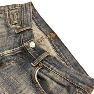7 for all mankind | Bootcut jeans low rise Sz 36